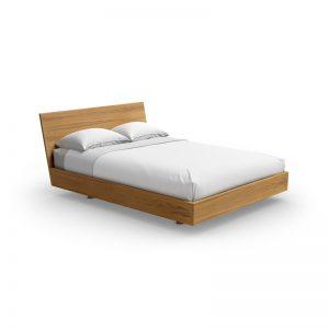 Urbana bed with wood headboard