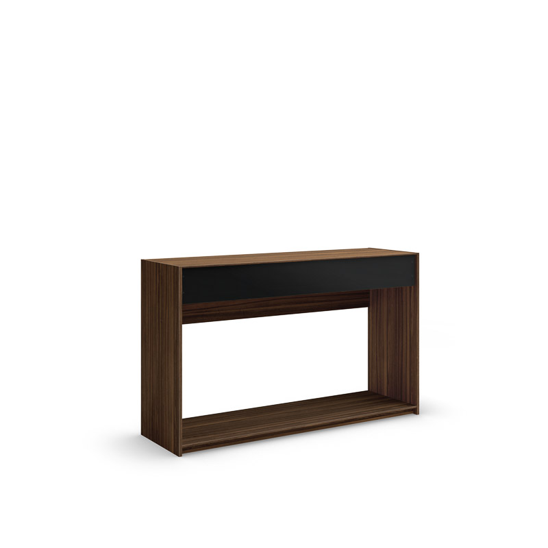 table console vitto 48po avec fa ade en verre mobican. Black Bedroom Furniture Sets. Home Design Ideas
